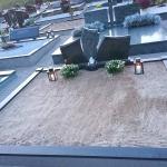 kapas prieš tvarkymą