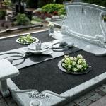kapo įrengimas naudojant rankų darbo granito elementus