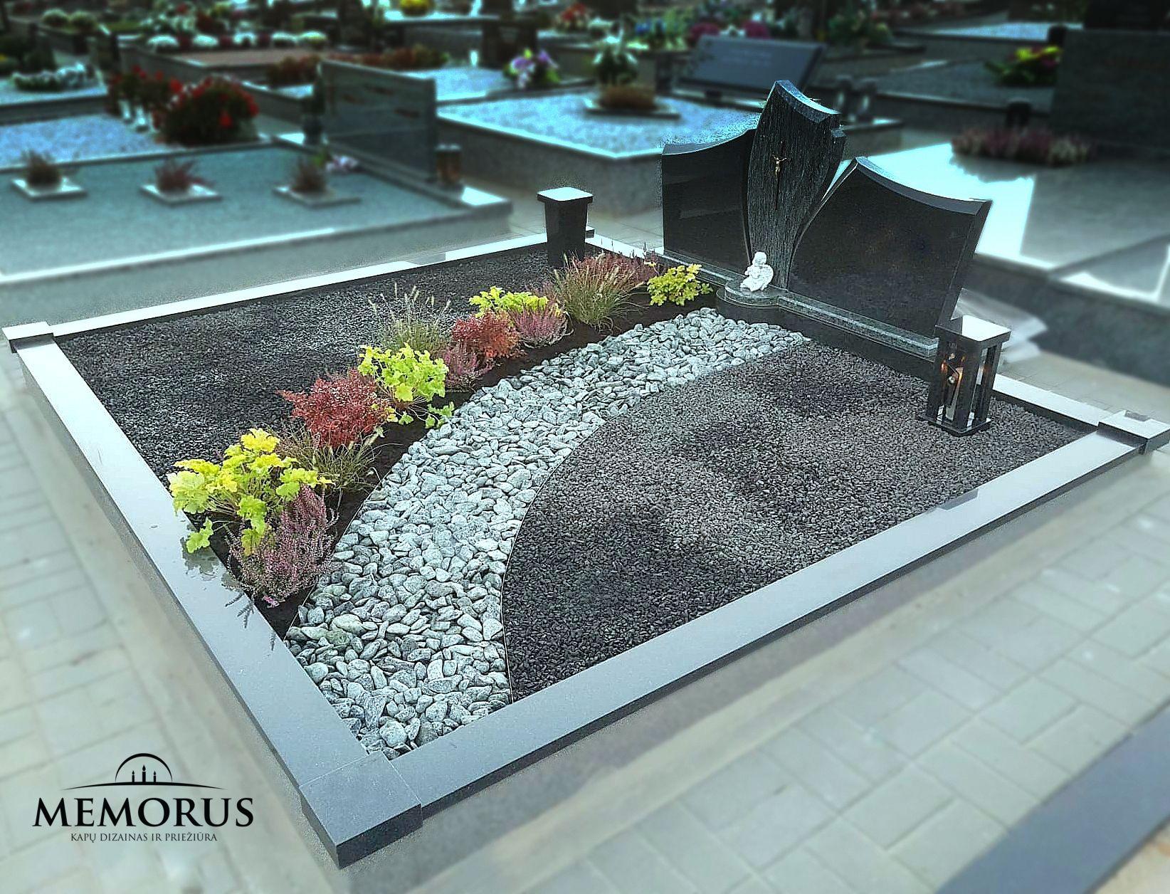kapo dekoravimas ir apželdinimas daugiamečiais augalais