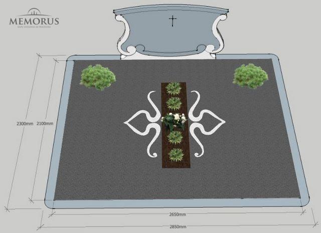 Kapo dizaino ir kapo tvarkymo projektas Kauno rajone