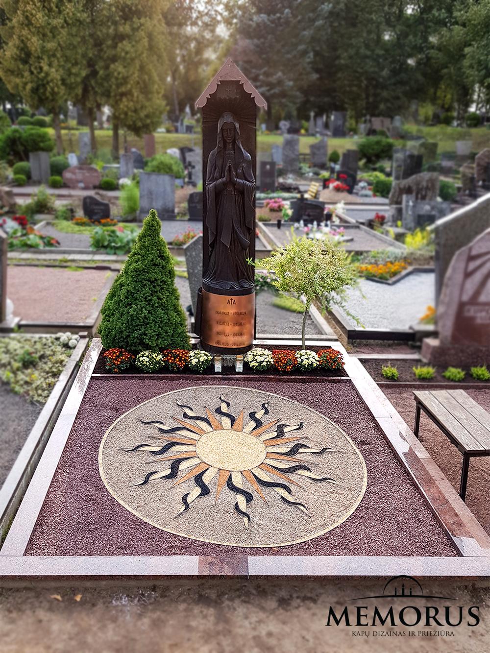kapu dekoravimas skaldele