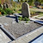 Kapavietės nuotrauka prieš kapo sutvarkymą ir įrengimą Šiauliuose