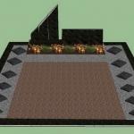 Kapo sutvarkymo projektas kapavietės įrengimui Klaipėdoje