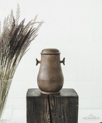 ruda senovinė urna