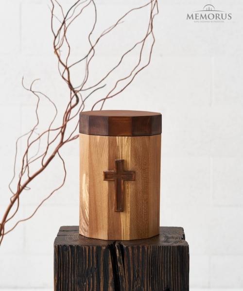 ruda medine kremavimo urna