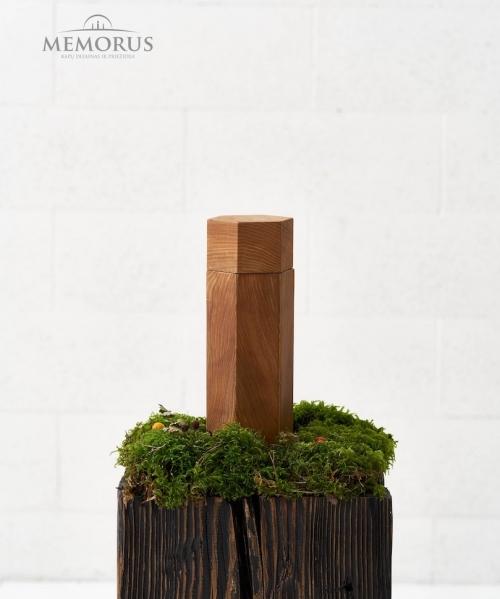 minimalistinio dizaino medine urna