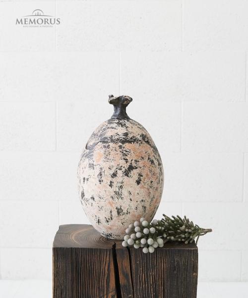 ruda kremavimo urna ovali raizyto pavirsiaus