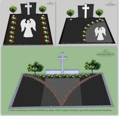 Kapų projektavimas-paminklas